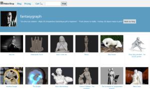 MakerShop 3D Printer Design Shop Screenshot