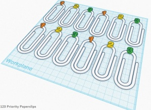 3D Printed Paperclip